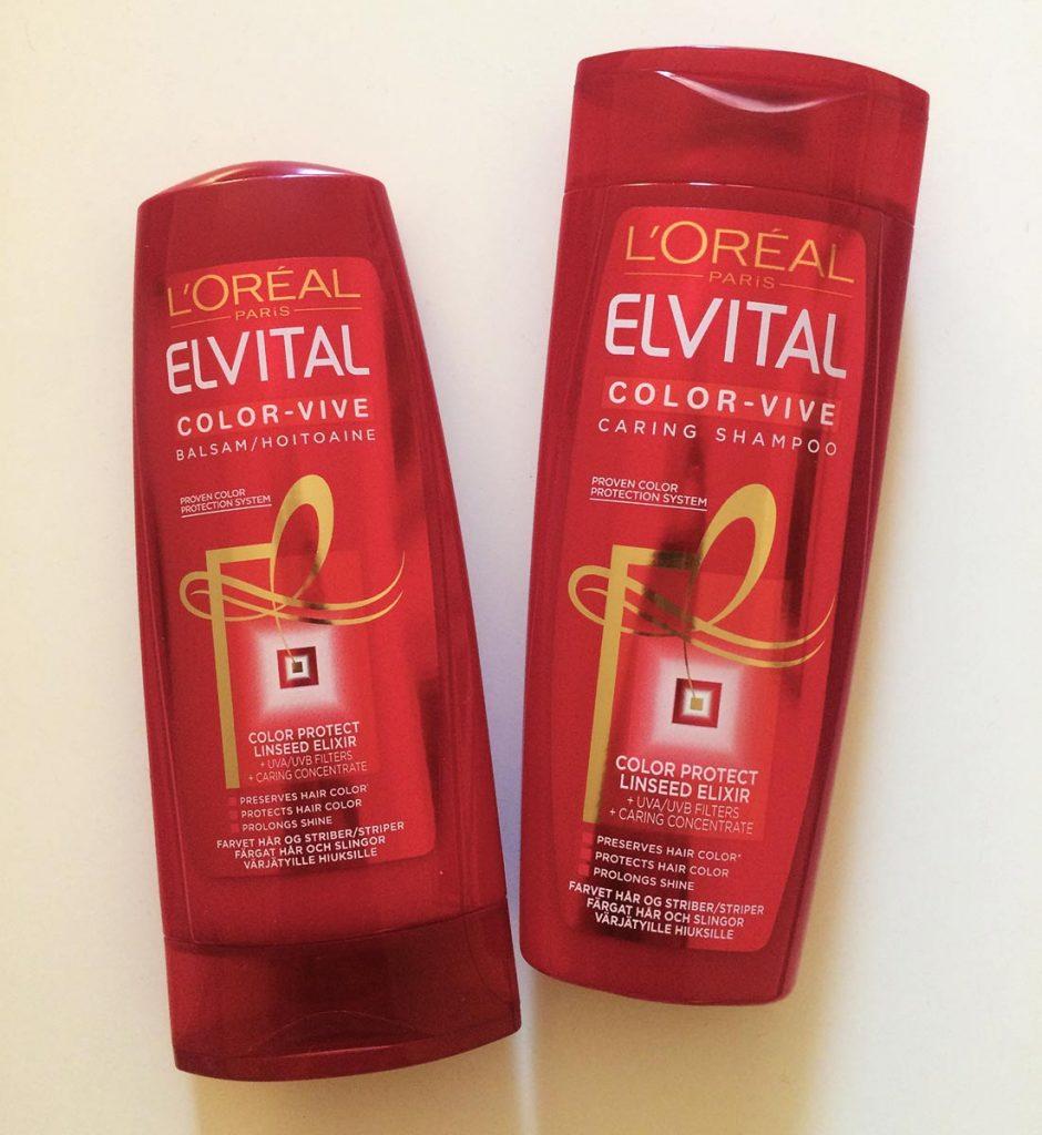 Elvital shampoo och balsam, mobilbild