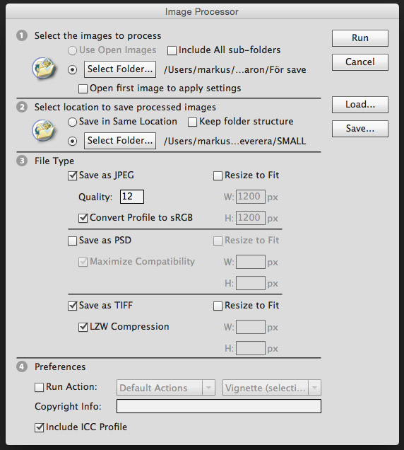 Image processor i Photoshop