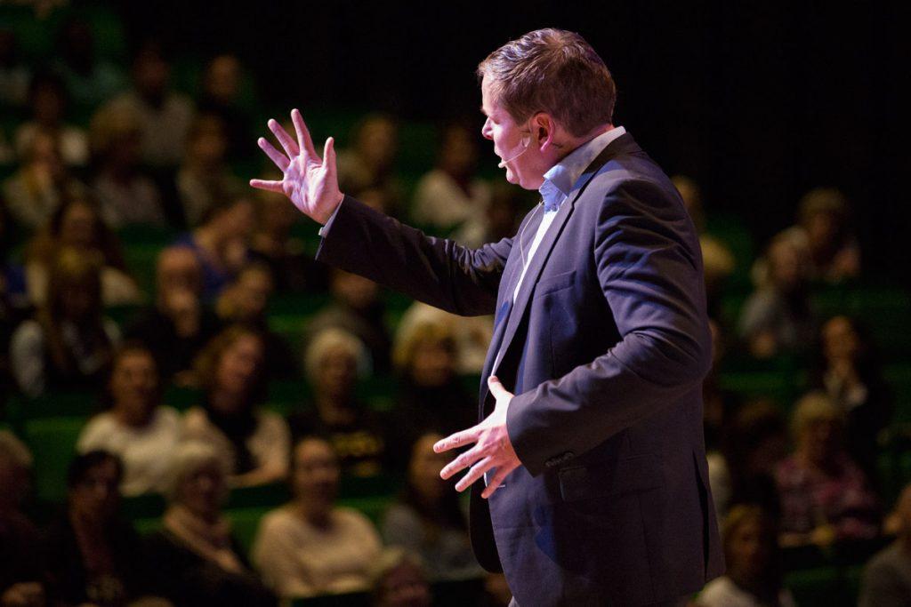 Jesper Caron, föreläsning på Novahuset i Örebro