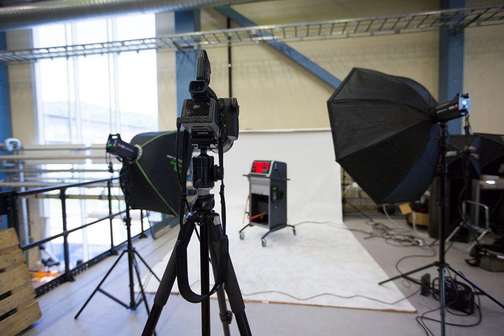 Ljussättning för produktfotografering med Hasselblad H5D-40